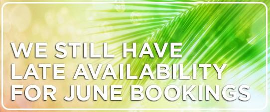 June Bookings